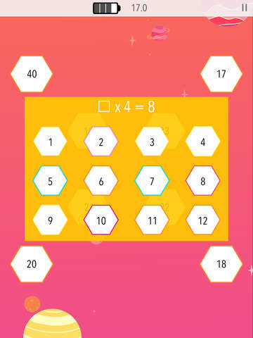Times Table Galaxy 2