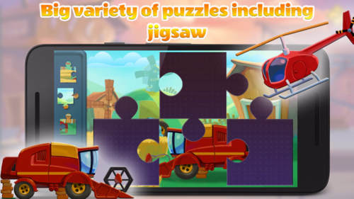 Live Transport Puzzles for Kids 3