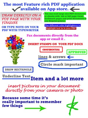 GoodWriter 4  Documents Hand Written Notes and PDF