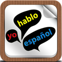 English < > Spanish in use with voice pictures and videos