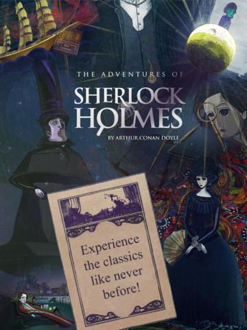 Sherlock Holmes for the iPad 5
