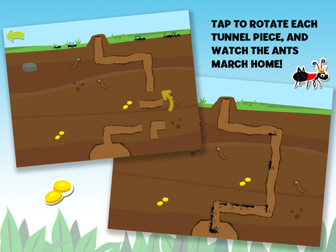 Brainy Bugs' Preschool Games for iPad 4