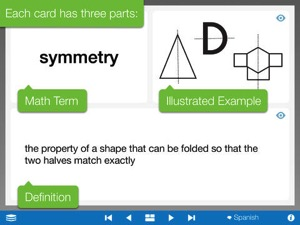Math Vocabulary Cards by the Math Learning Center