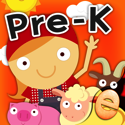 Animal Pre K Early Math Games for Kids with Skills
