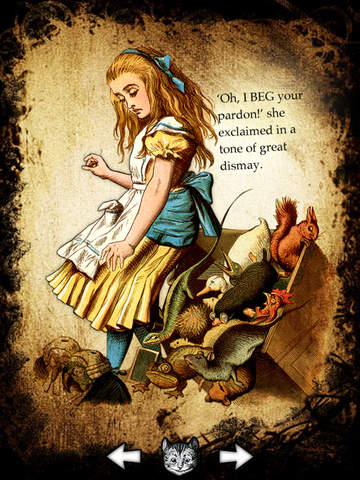 Alice for the iPad  An original and unique Digital Version of a Children Classic 5