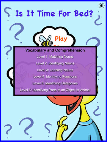 Early Language Development with Sleepy Fred 2