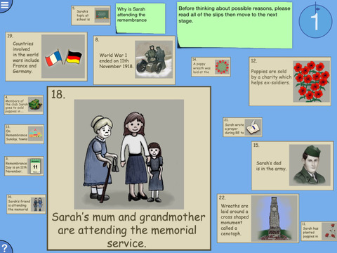 Digital Mysteries Remembrance Day