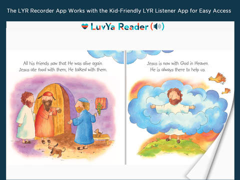 LuvYa Reader Recorder – Recordable Children's Bibles, Christian Devotions and Prayers for Kids You Love 5