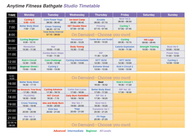 AFB - Timetable 17 Sept.001
