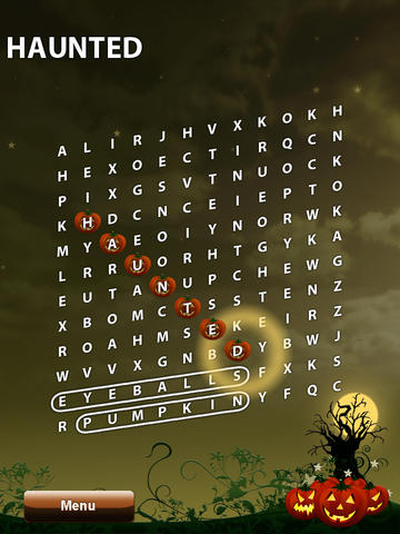 Halloween WordSearch 2