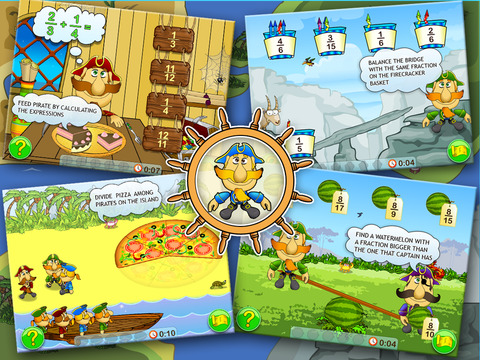 Fractions & Smart Pirates