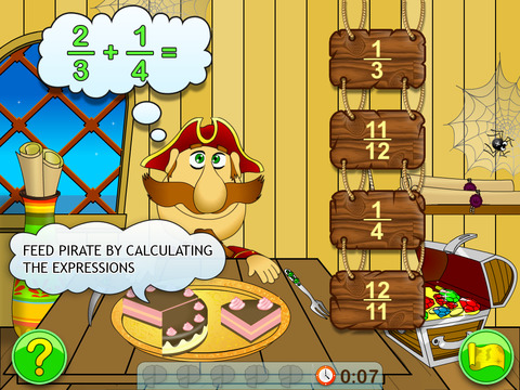 Fractions & Smart Pirates 4