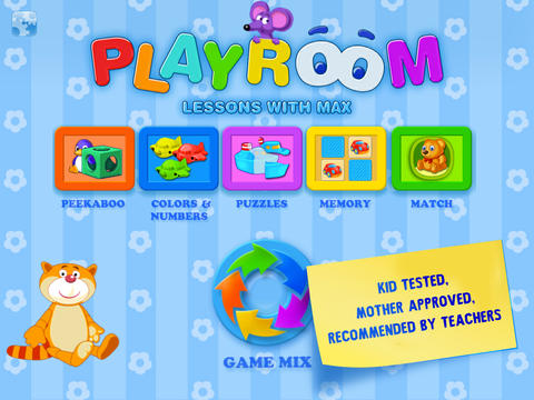 Playroom - Lessons with Max