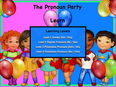 The Pronoun Party