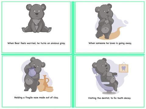 Learning Emotions with the Rainbow Feelings Bear 2