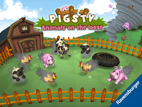 Pigsty - Animals on the loose